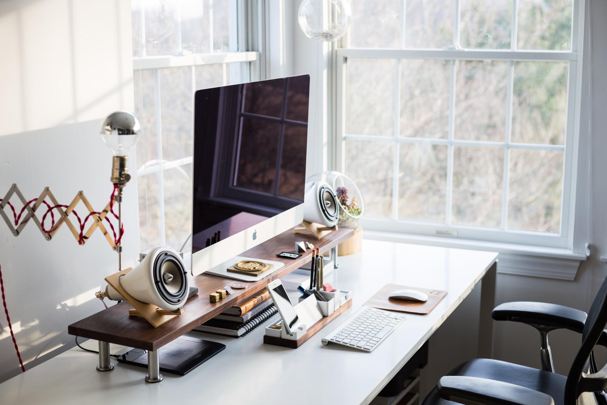 Freelancer home office